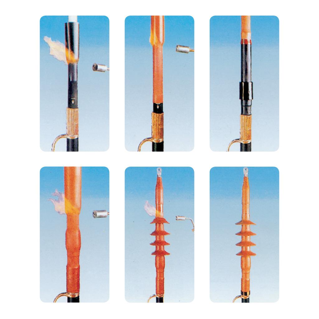 Terminali termorestringenti per alta tensione fino a 72 kv for Terminal exterior 15 kv