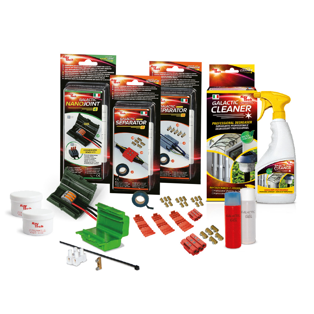 Kit for electrical installations