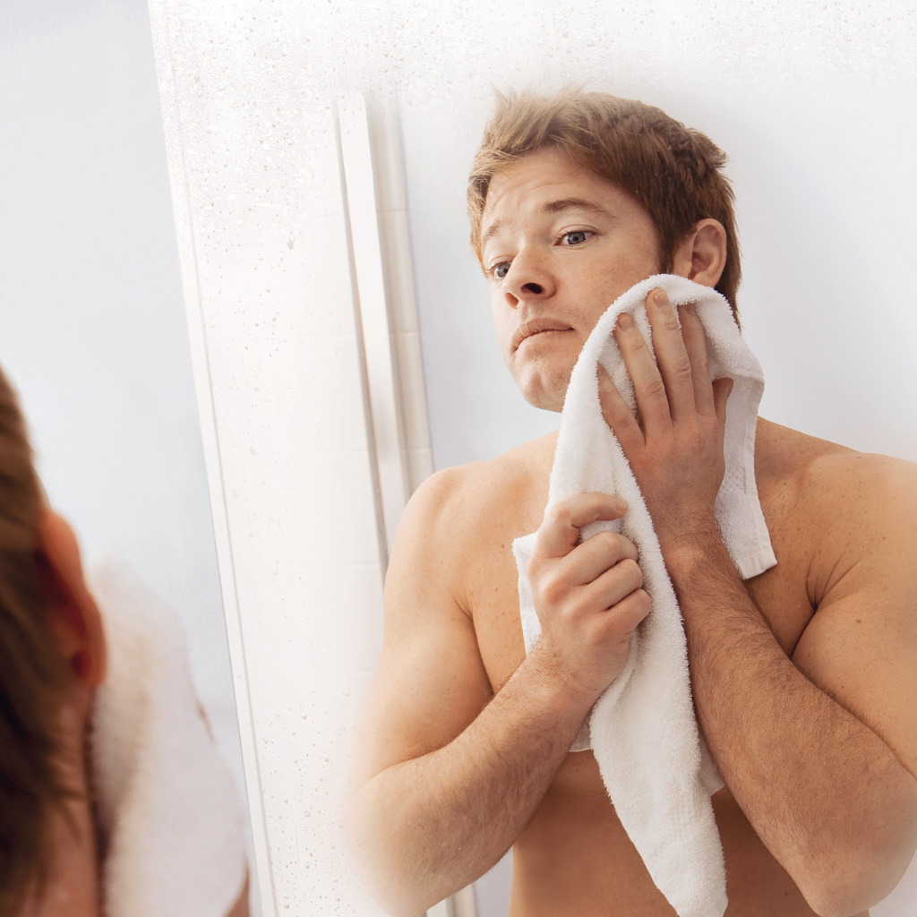 Face arrière miroir