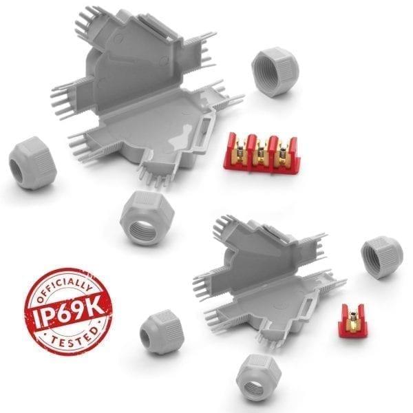 Little Joint Y - microgiunzioni IP69K per connessioni derivate
