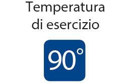 Superclick - Temperatura di esercizio: 90° C