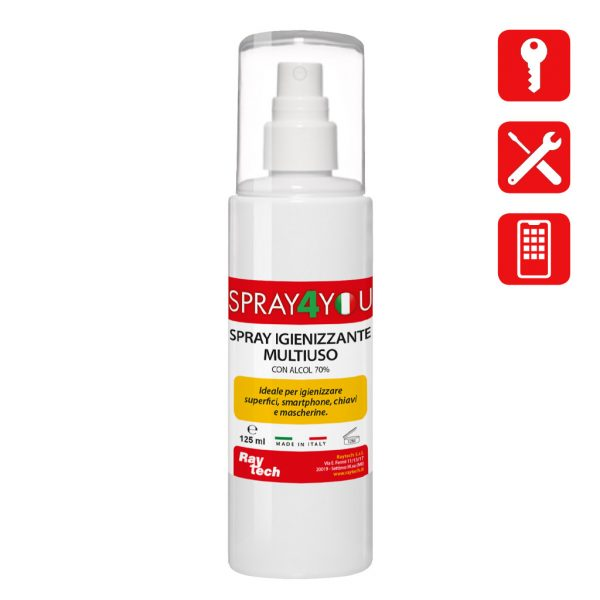 Spray igienizzante superfici 125ml