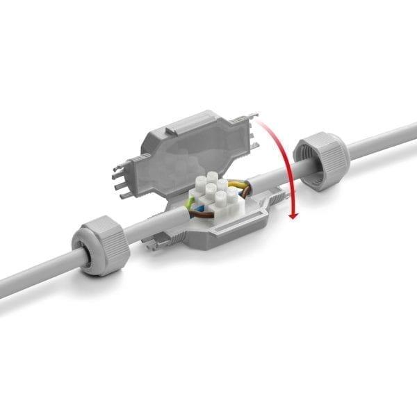 Giunto per cavi elettrici Little Joint IP68 - 2