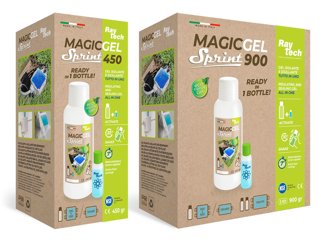 Magic Gel Sprint 400ml e 900ml