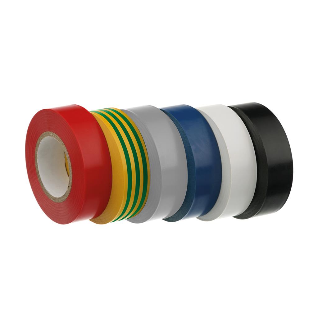 Self-adhesive tapes in PVC