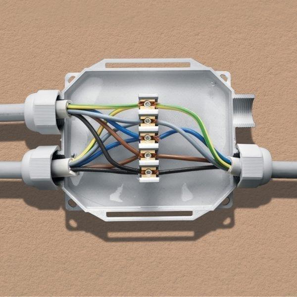 Cassetta per cavi elettrici Ready Box IP98 - step 1