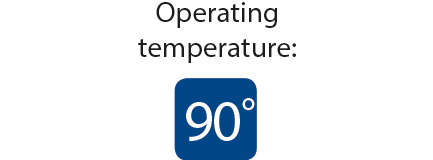 Superclik IPX8 - operation temperature